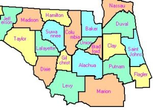Counties In the Tour
